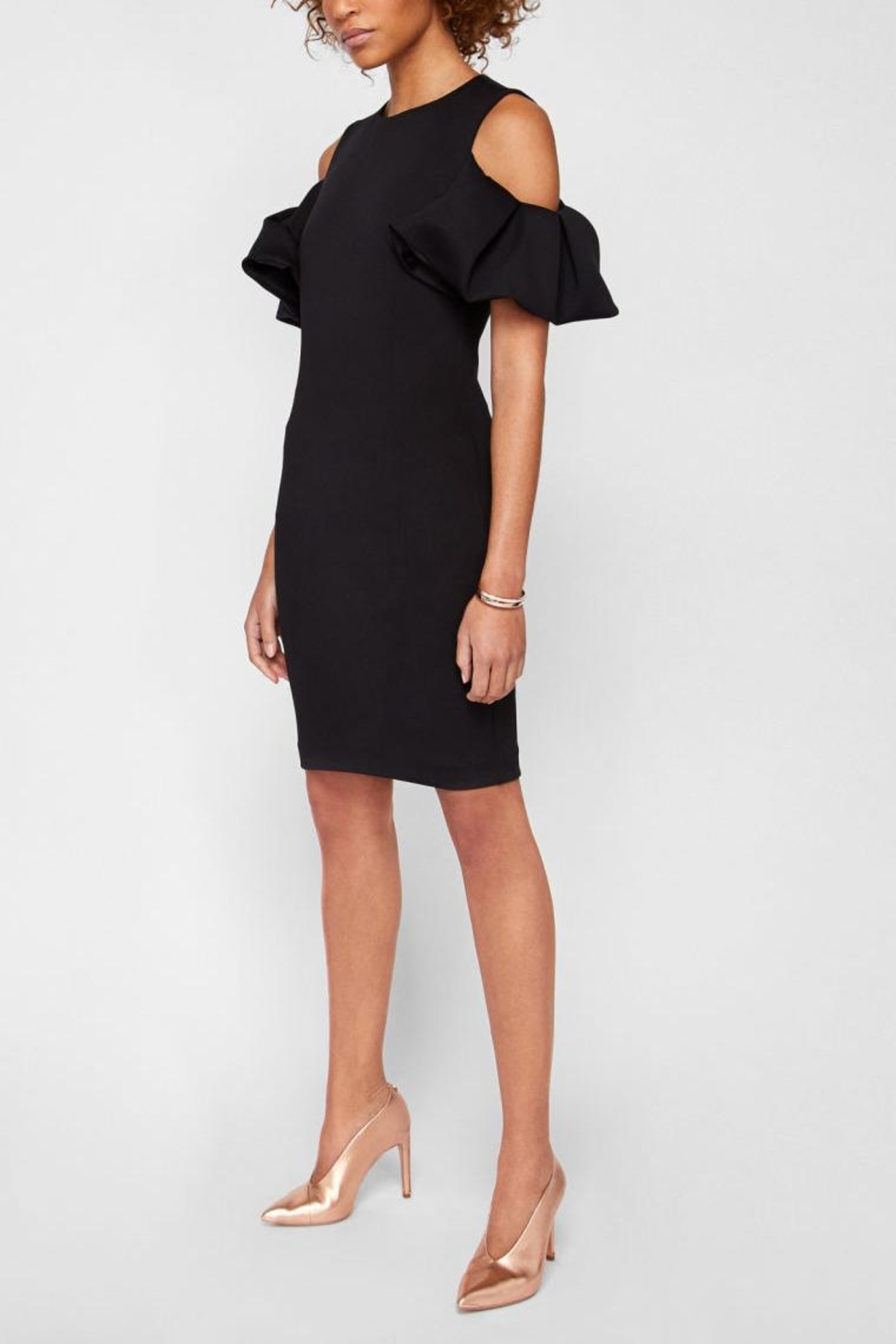 Ted Baker Cold Shoulder Dress - Main Image