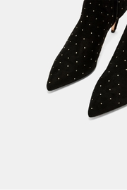 Ted Baker Curvad Studded Boots - Back cropped