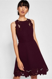 Ted Baker Embriodered Skater Dress - Product Mini Image
