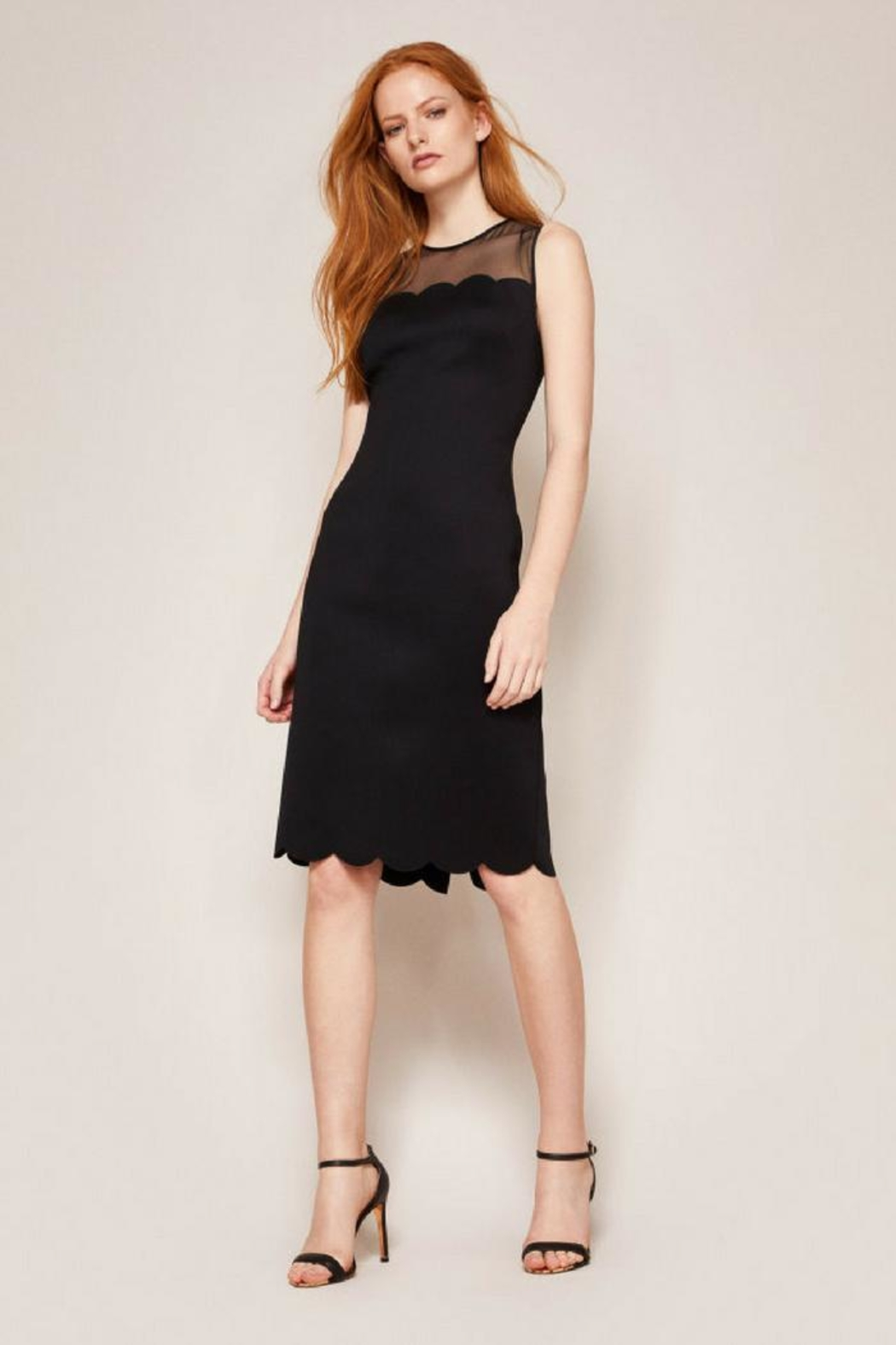 Ted Baker Fitted Midi Dress - Main Image