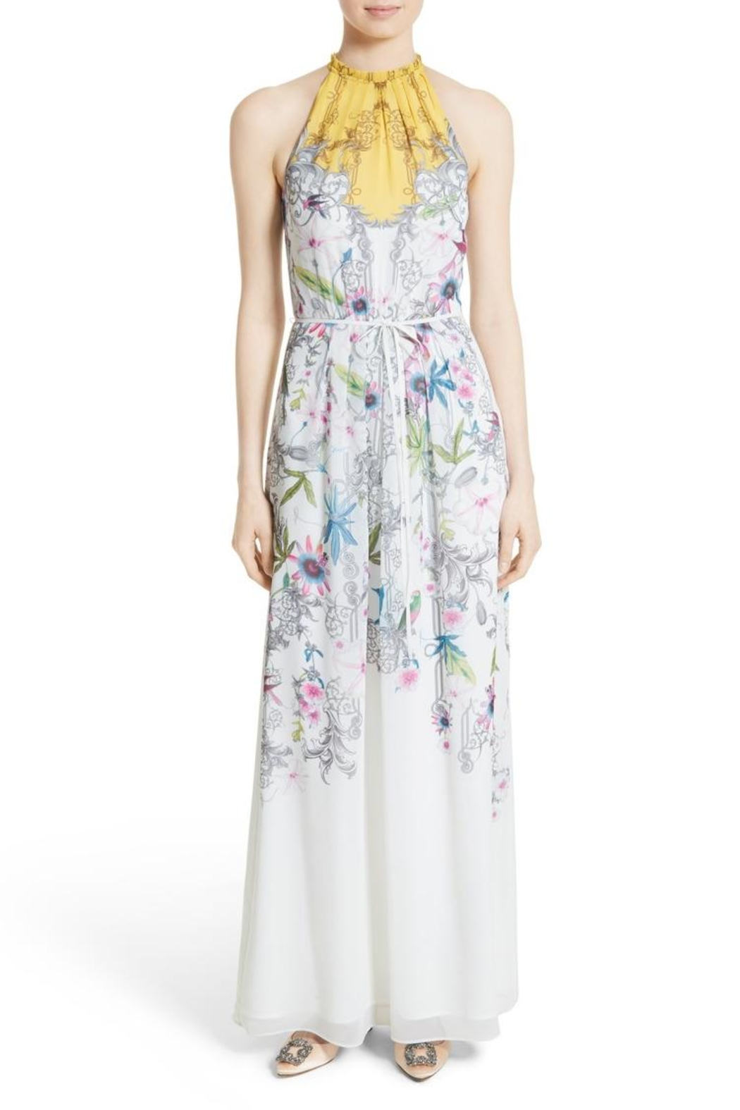 Ted Baker Passion Flower Maxi Dress - Main Image