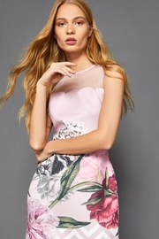 Ted Baker Floral Scalloped Dress - Product Mini Image