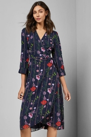 Ted Baker Floral Wrap Dress - Product Mini Image