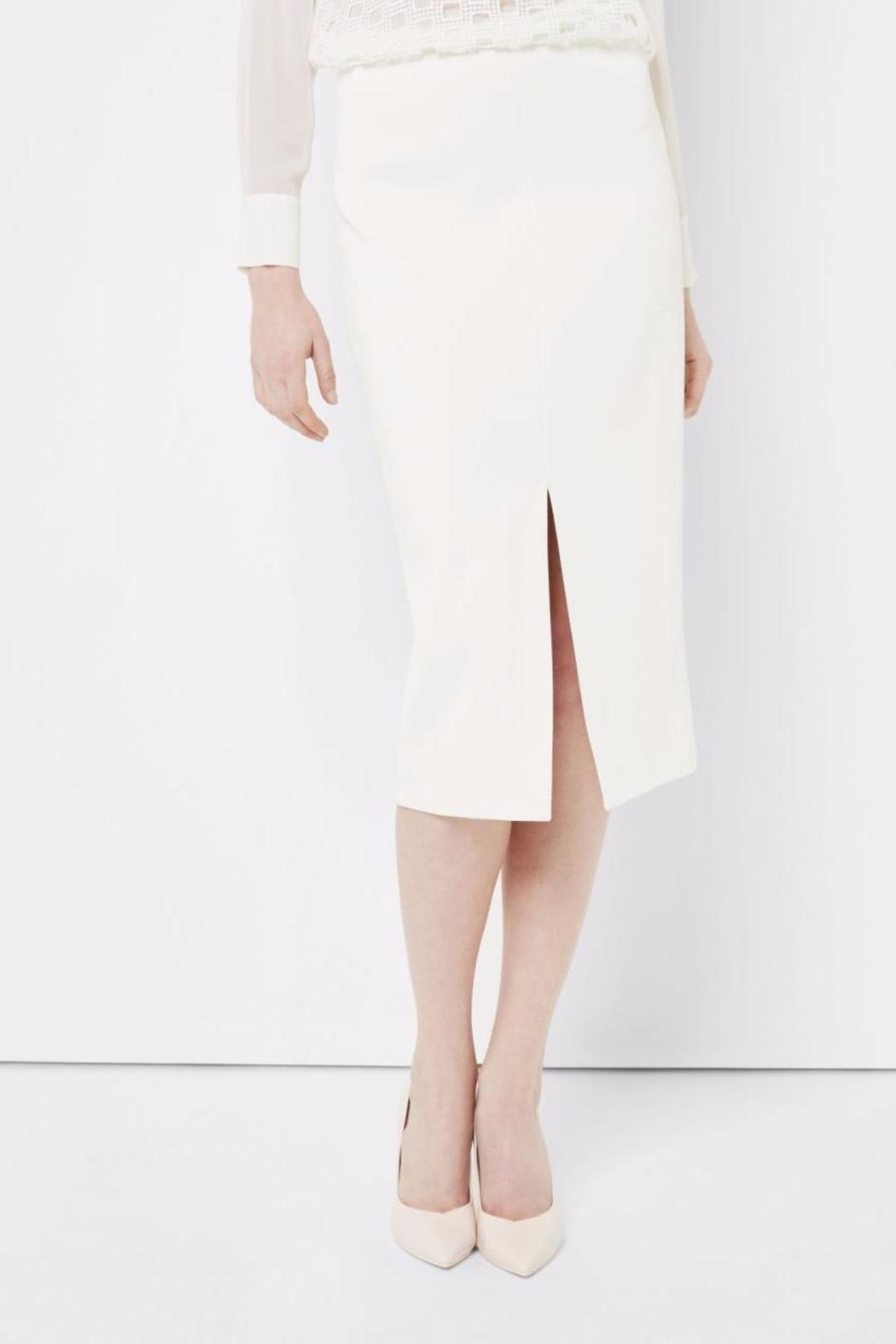 Ted Baker Ivory Pencil Skirt - Main Image