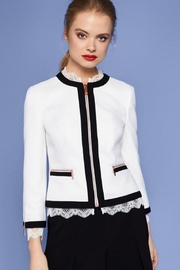 Ted Baker Lace Trim Jacket - Product Mini Image