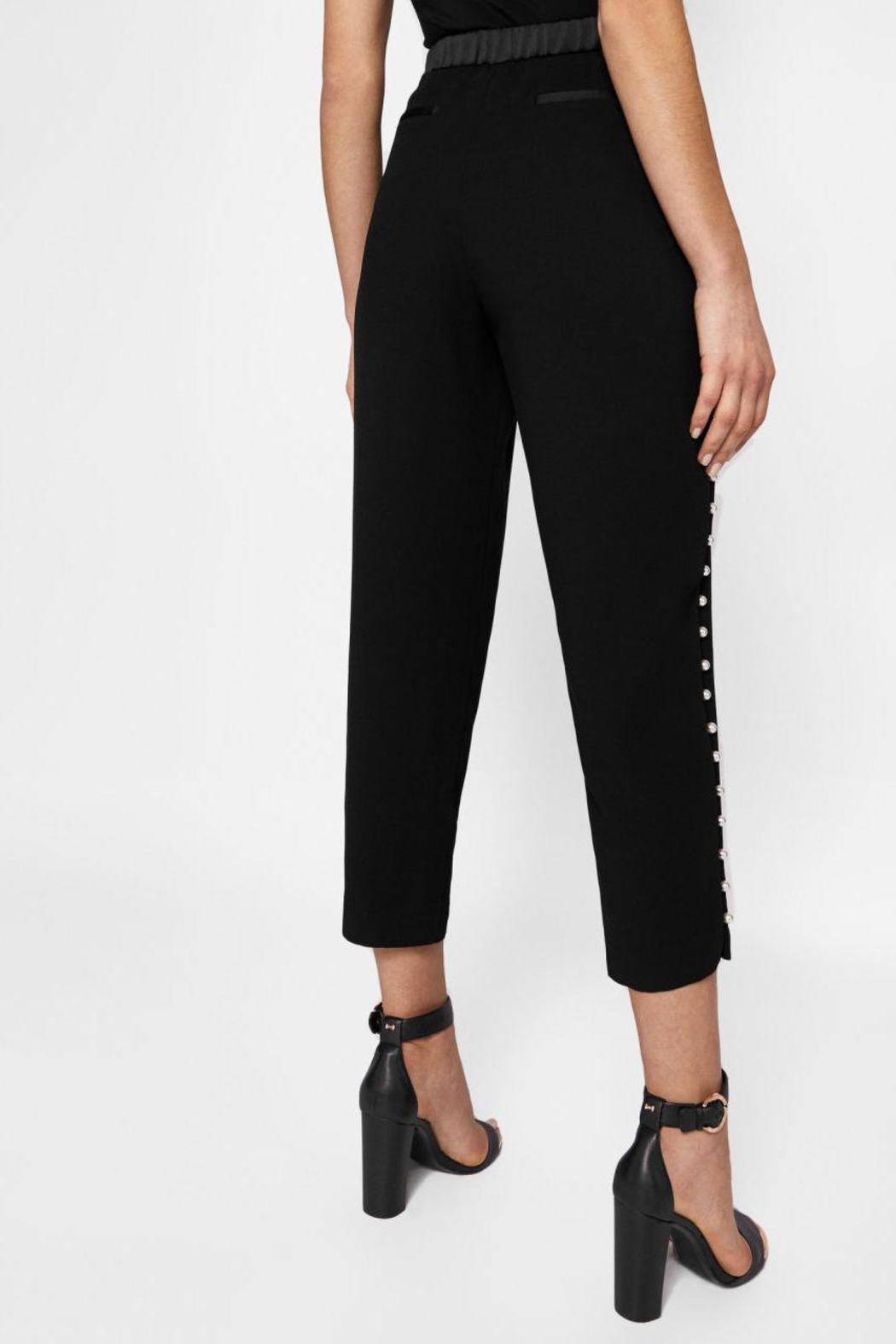 Ted Baker Pearl Detail Pant - Side Cropped Image