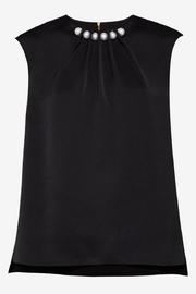Ted Baker Pearl Embellished Top - Product Mini Image