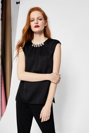 Ted Baker Pearl Embellished Top - Front full body