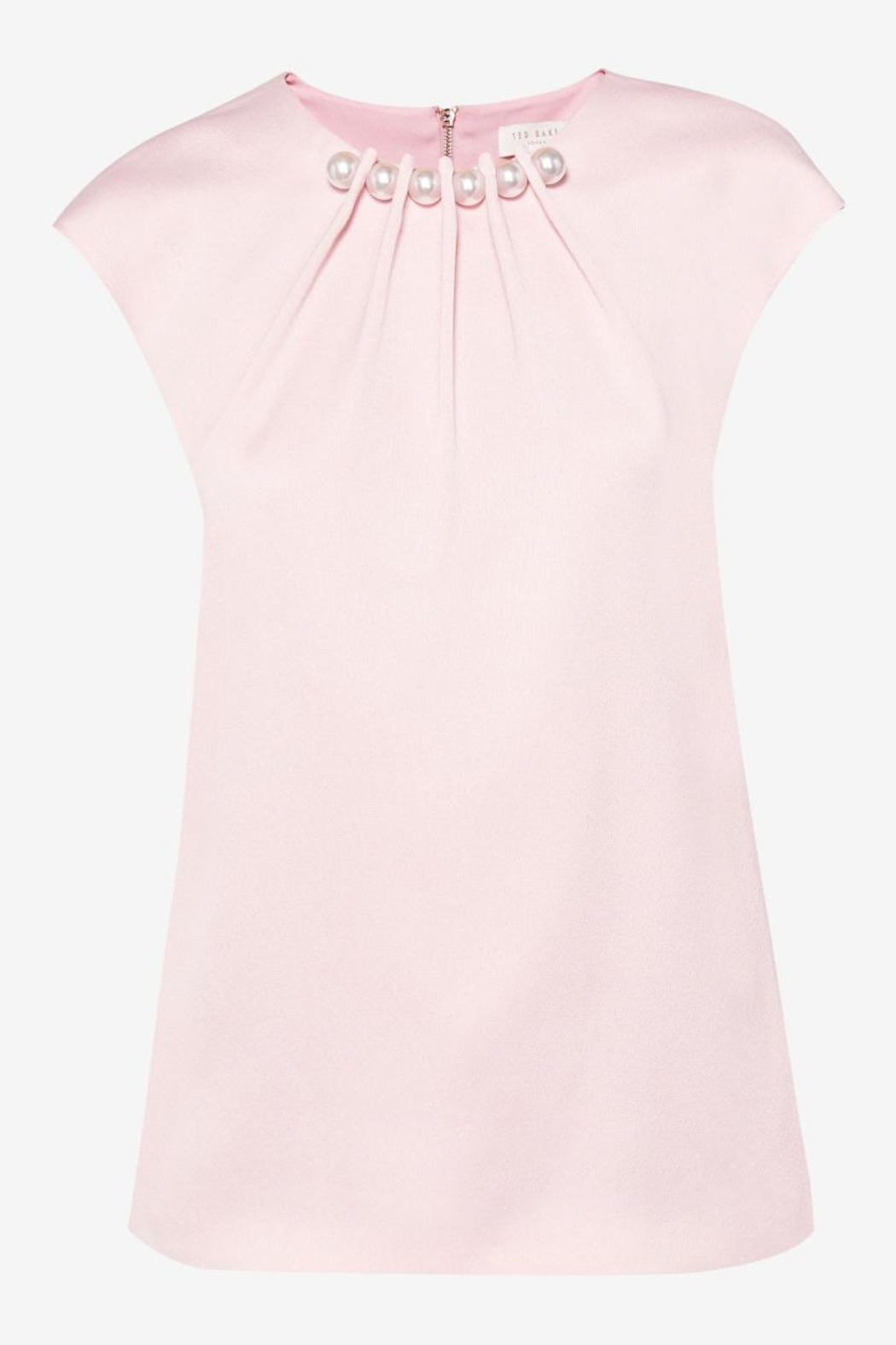 Ted Baker Pearl Embellished Top - Front Cropped Image