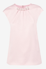 Ted Baker Pearl Embellished Top - Front cropped
