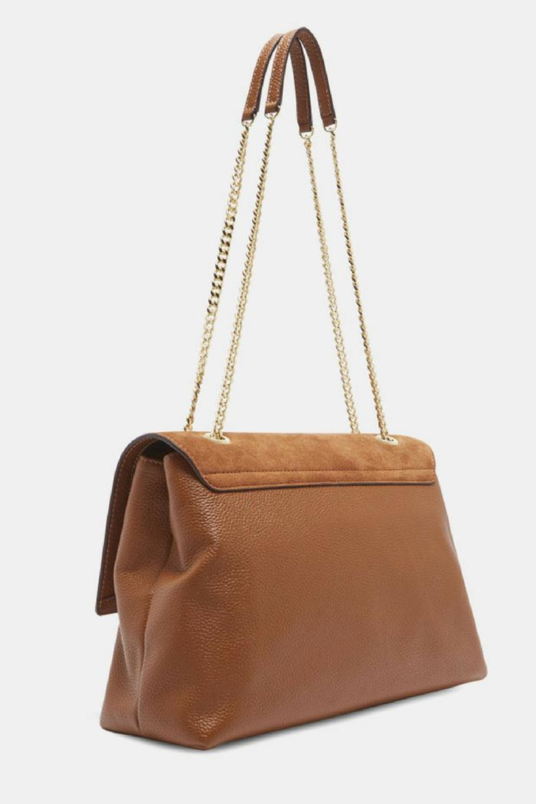 Ted Baker Suede & Leather Bag - Front Full Image