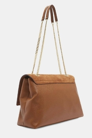 Ted Baker Suede & Leather Bag - Front full body
