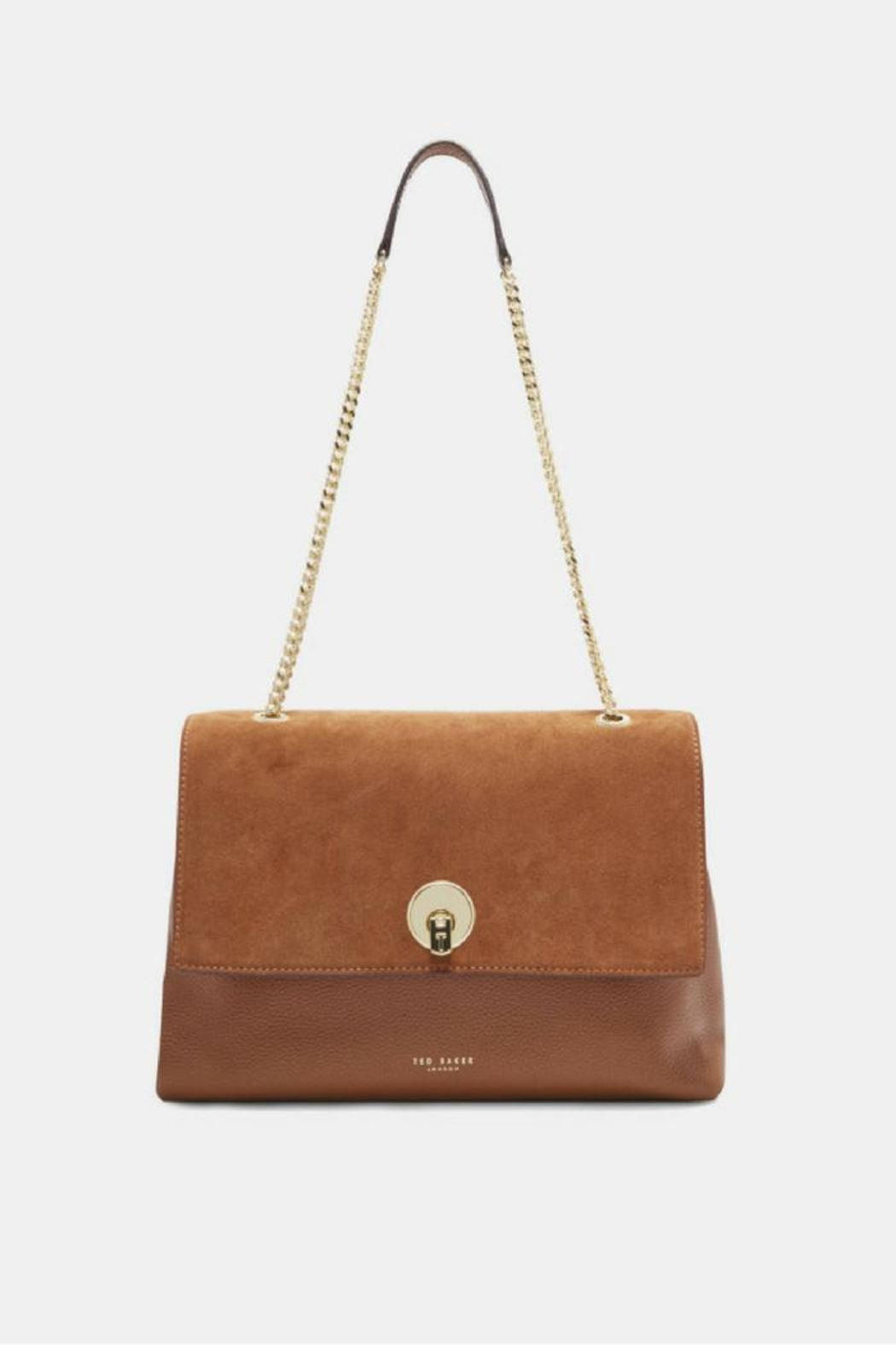 Ted Baker Suede & Leather Bag - Main Image