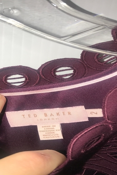 Ted Baker London Burgundy Fitted Lace - Alternate List Image