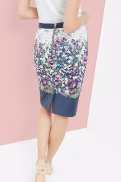 Ted Baker London Floral Pencil Skirt - Alternate List Image