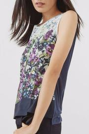 Ted Baker London Floral Silk Top - Product Mini Image