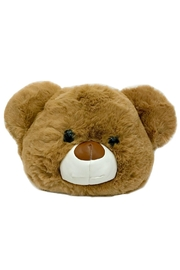 Leather Country Teddy Bear Bag - Product Mini Image
