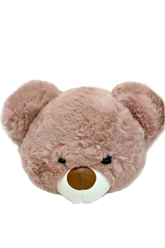 Leather Country Teddy Bear Bag - Product List Image