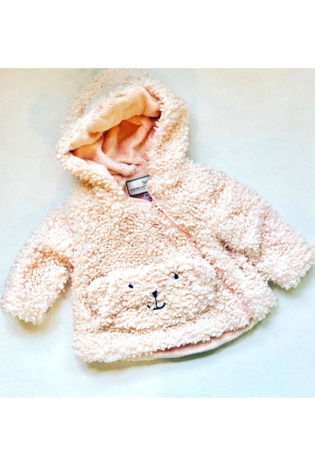 Mack & Co Teddy Bear Coat - Main Image