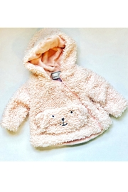 Mack & Co Teddy Bear Coat - Front cropped