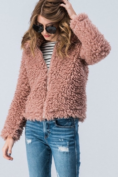Trend:notes Teddy Bear Jacket - Product List Image