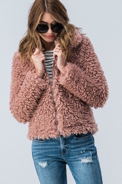 Trend:notes Teddy Bear Jacket - Alternate List Image