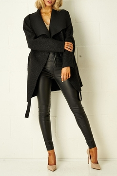 frontrow Teddy Black Coat - Product List Image