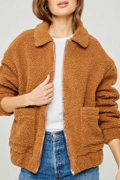 Hayden Los Angeles Teddy Bomber Jacket - Product List Image
