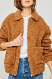Hayden Los Angeles Teddy Bomber Jacket - Product Mini Image