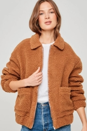 Hayden Teddy Bomber Jacket - Product Mini Image