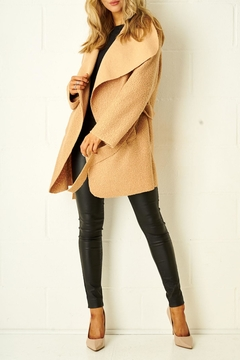 frontrow Teddy Camel Coat - Product List Image