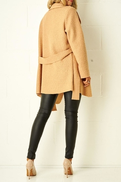 frontrow Teddy Camel Coat - Alternate List Image
