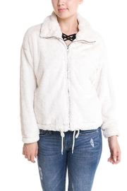 Paper Crane Teddy Jacket - Side cropped