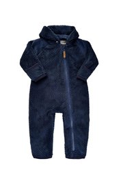 Minymo Teddy Suit - Indigo Blue - Product Mini Image
