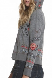 Driftwood Teddy Zip-Up Jacket - Front full body
