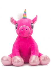 Cuddles and Friends Hot Pink Unicorn - Front cropped