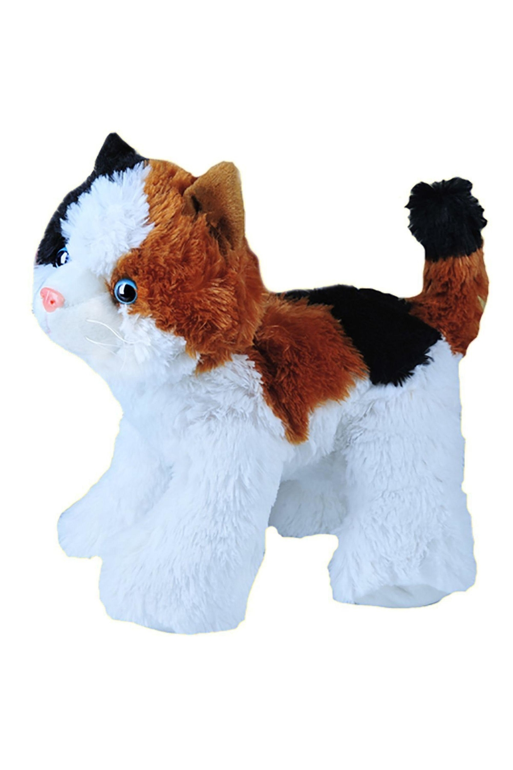 Teddy Mountain Make-Your-Own Calico Cat Kit - Front Full Image