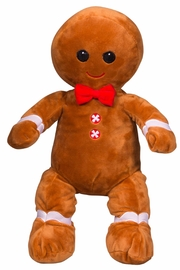 Teddy Mountain Make-Your-Own Gingerbread Man Kit - Front cropped