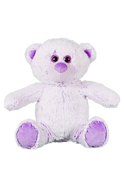 Teddy Mountain Make-Your-Own Lavender Bear Kit - Side cropped