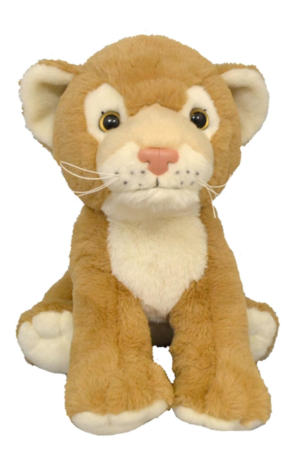 Teddy Mountain Make-Your-Own Lion Cub Kit - Front Cropped Image