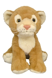Teddy Mountain Make-Your-Own Lion Cub Kit - Front cropped