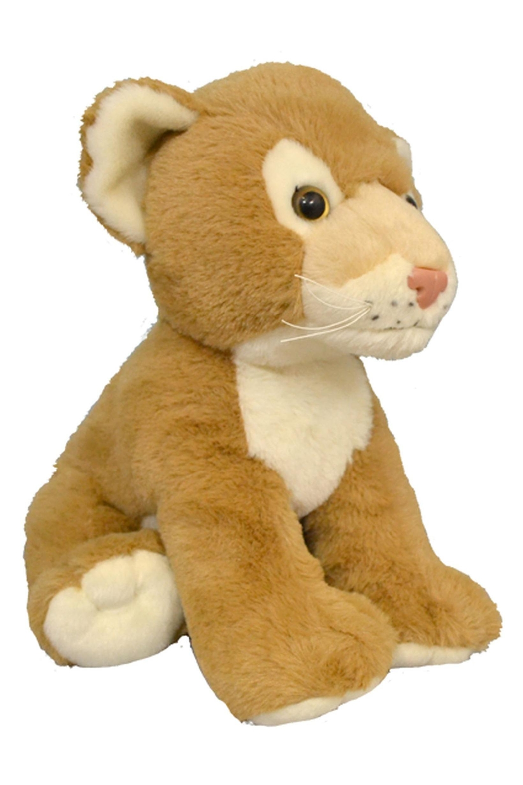 Teddy Mountain Make-Your-Own Lion Cub Kit - Front Full Image