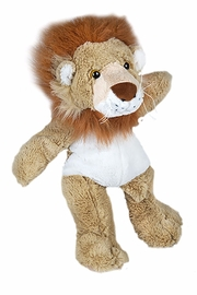 Teddy Mountain Make-Your-Own Lion Kit - Front full body