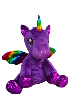 Teddy Mountain Make-Your-Own Purple Unicorn Kit - Product List Image