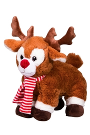 Teddy Mountain Make-Your-Own Reindeer Kit - Front full body