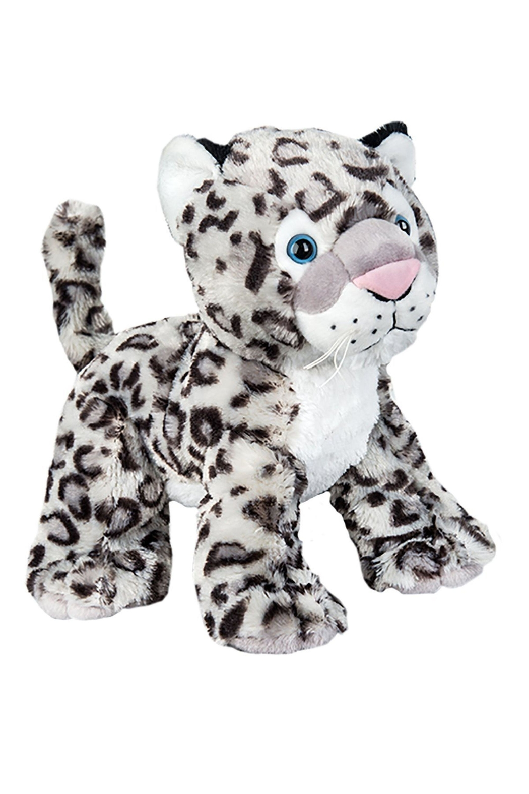 Teddy Mountain Make-Your-Own Snow Leopard Kit - Front Full Image