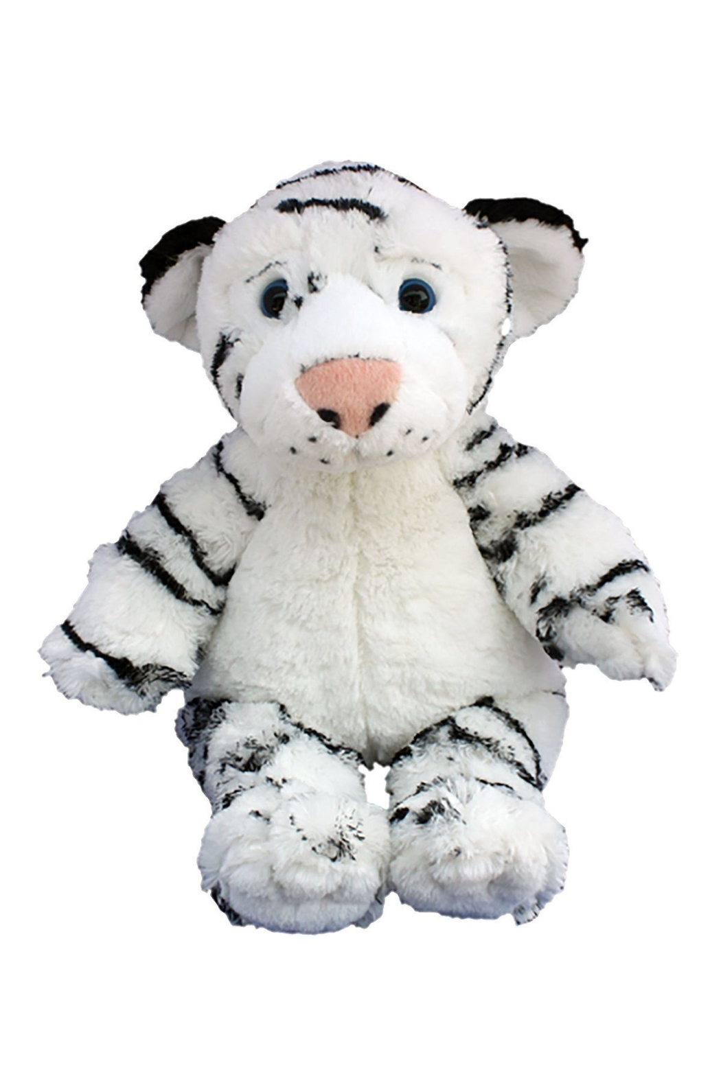 Teddy Mountain Make-Your-Own White Tiger Kit - Front Full Image