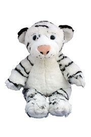 Teddy Mountain Make-Your-Own White Tiger Kit - Front full body