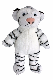 Teddy Mountain Make-Your-Own White Tiger Kit - Front cropped