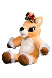 Teddy Mountain Male-Your-Own Olive the Reindeer Kit - Front full body